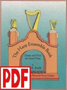 Harp Ensemble Book by Beth Kollé <span class='red'>PDF Download</span>