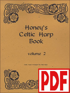 Honey's Celtic Harp Book Vol. 2 by Therese Honey <span class='red'>PDF Download</span>