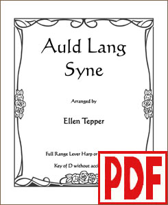 Auld Lang Syne Variations by Ellen Tepper <span class='red'>PDF Download</span>