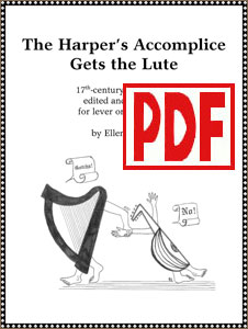 The Harper's Accomplice Gets the Lute by Ellen Tepper <span class='red'>PDF Download</span>