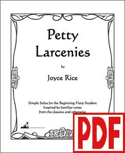 Petty Larcenies #1 by Joyce Rice <span class='red'>PDF Download</span>