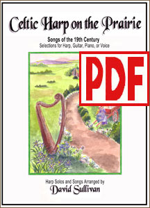 Celtic Harp on the Prairie by David Sullivan <span class='red'>PDF Download</span>