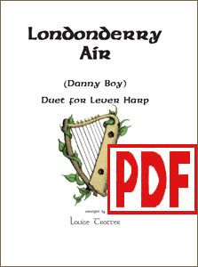 Londonderry Air (Danny Boy)  Duet by Louise Trotter <span class='red'>PDF Download</span>