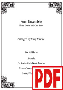 4 Ensembles by Mary Muckle <span class='red'>PDF Download</span>
