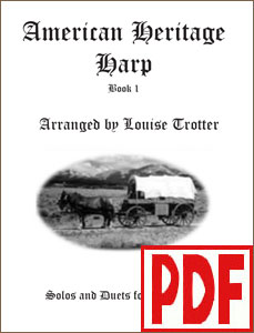 American Heritage Harp #1 - Solo or Duo -  by Louise Trotter PDF Download