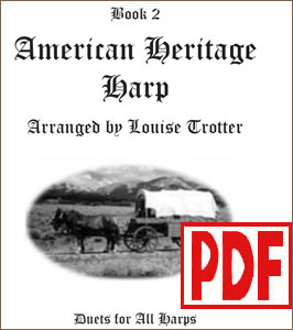 American Heritage Harp #2 - Solo or Duo -  by Louise Trotter <span class='red'>PDF Download</span>