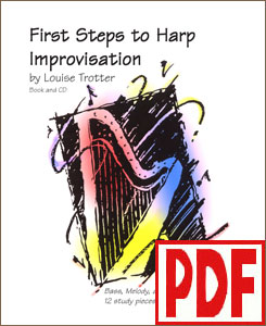First Steps to Harp Improvisation by Louise Trotter <span class='red'>PDF Download</span>