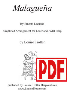 Malagueña arranged by Louise Trotter PDF Download