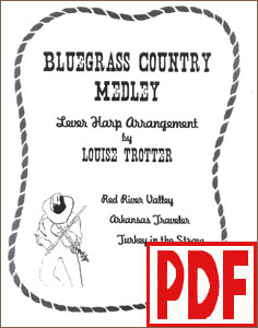 Bluegrass Country Medley by Louise Trotter <span class='red'>PDF Download</span>