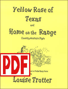 Yellow Rose of Texas and Home on the Range by Louise Trotter <span class='red'>PDF Download</span>