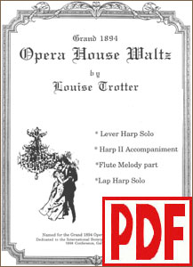 Grand 1894 Opera House Waltz  by Louise Trotter PDF Download