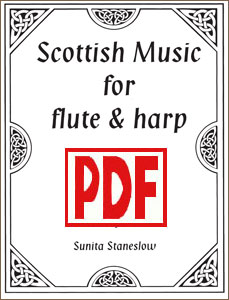 Scottish Flute and Harp by Sunita Staneslow <span class='red'>PDF Download</span>