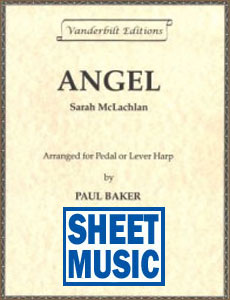 Angel by Sarah McLachlan arranged by Paul Baker Sheet Music