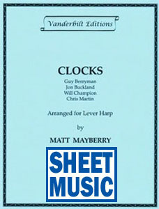 Clocks by Coldplay arranged by Matt Mayberry Sheet Music