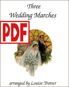Three Wedding Marches by Louise Trotter <span class='red'>PDF Download</span>