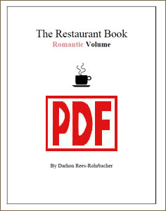 The Restaurant Book: Romantic Volume by Darhon Rees-Rohrbacher <span class='red'>PDF Download</span>