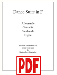 Dance Suite in F composed by Darhon Rees-Rohrbacher PDF Download