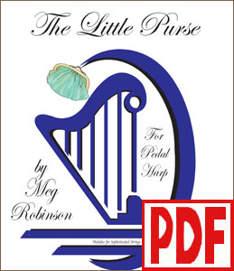 The Little Purse by Meg Robinson for Pedal Harp <span class='red'>PDF Download</span>
