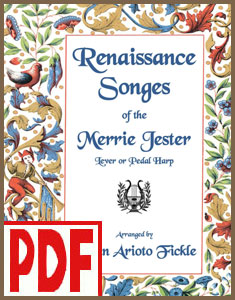 Renaissance Songes of the Merrie Jester by Robin Fickle <span class='red'>PDF Download</span>