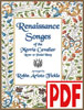 Renaissance Songes of the Merrie Cavalier by Robin Fickle PDF Download