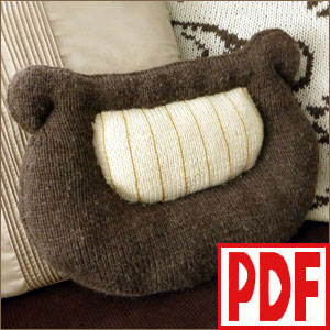 <span class='red'>PDF PATTERN</span> for Knitting the