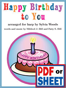 Happy Birthday to You arranged by Sylvia Woods