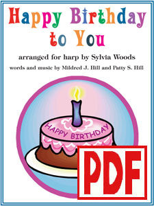 Happy Birthday to You arranged by Sylvia Woods PDF Download
