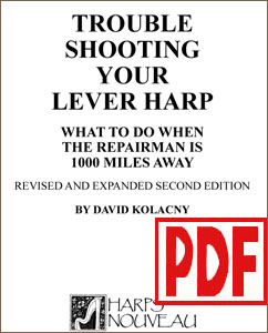 Trouble Shooting Your Lever Harp by David Kolacny PDF Download