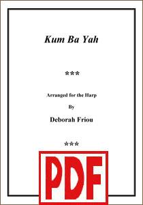 Kum Ba Yah arranged by Deborah Friou <span class='red'>PDF Download</span>