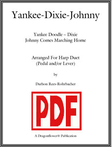 Yankee-Dixie-Johnny for harp duet by Darhon Rees-Rohrbacher PDF Download