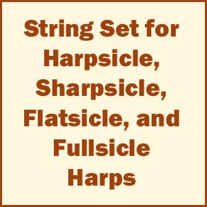 Complete Set of Harpsicle Harp Strings