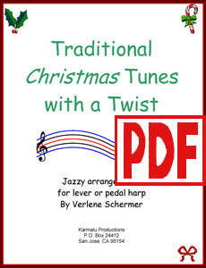 Traditional Christmas Tunes with a Twist by Verlene Schermer PDF Download