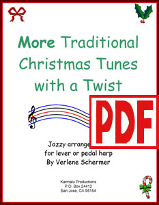 More Traditional Christmas Tunes with a Twist by Verlene Schermer <span class='red'>PDF Download</span>