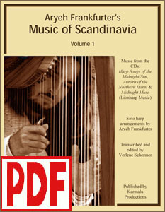 Music of Scandinavia Vol. 1  by Aryeh Frankfurter <span class='red'>PDF Download</span>