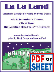 La La Land selections arranged by Sylvia Woods