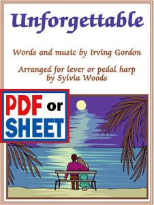 Unforgettable arranged by Sylvia Woods