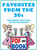 Favorites from the 50s arranged by Sylvia Woods - <span class='red'><b>PDF Download</b></span>