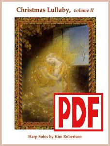 Christmas Lullaby Vol. 2 by Kim Robertson <span class='red'>PDF Download</span>