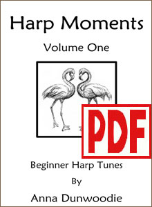 Harp Moments SERIES by Anna Dunwoodie PDF Downloads