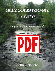 Saxtons River Suite: A Year in Vermont by Carol Wood <span class='red'>PDF Download</span>