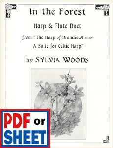 In the Forest for harp and flute by Sylvia Woods