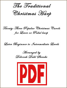 Traditional Christmas Harp by Deborah Dahl Shanks <span class='red'>PDF Downloads</span>