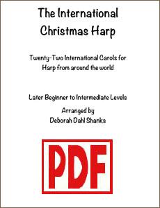 International Christmas Harp by Deborah Dahl Shanks PDF Downloads