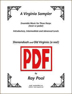 A Virginia Sampler for 3-harp ensemble by Ray Pool PDF Download