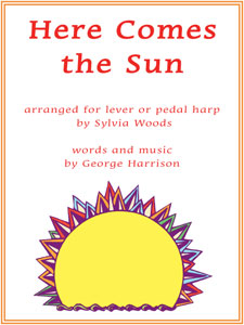 Here Comes the Sun by George Harrison arranged for harp by Sylvia Woods sheet music