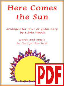 Here Comes the Sun by George Harrison arranged by Sylvia Woods PDF Download