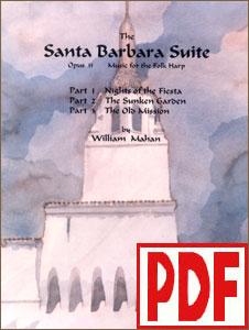 Santa Barbara Suite by William Mahan <span class='red'>PDF Download</span>