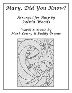 mary did you know sheet music by sylvia woods - Mary Did You Know Christmas Song