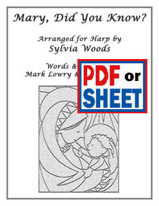 Mary, Did You Know? arranged by Sylvia Woods