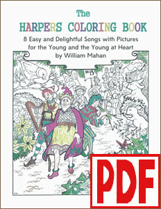 The Harper's Coloring Book by William Mahan PDF Download